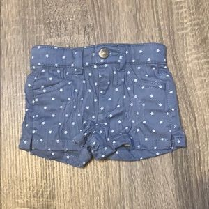 Other - Blue & white star shorts